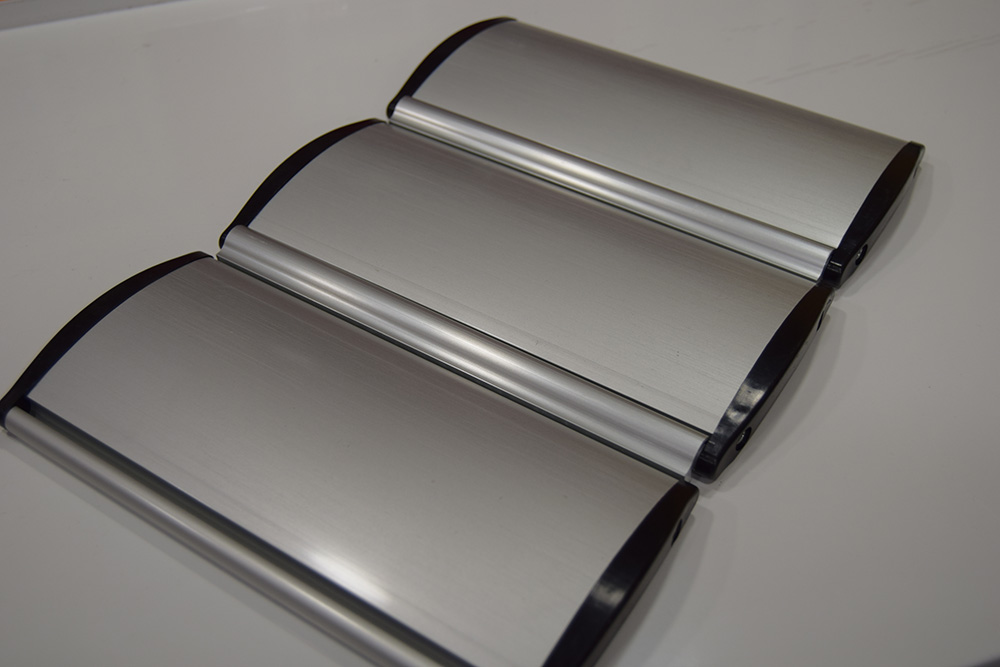 Persianas enrollables de aluminio extrusionado