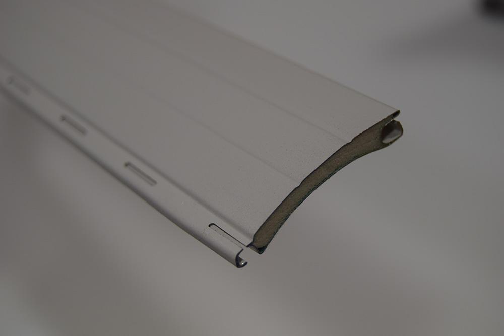 Persianas enrollables de aluminio perfilado