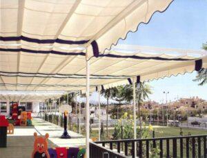 Toldos para hosteleria Jaen - Toldos y persianas Andalucía
