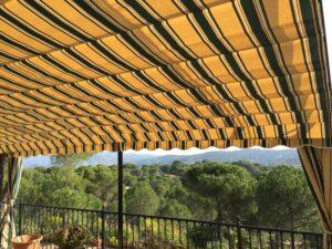 Toldos para terrazas Jaen - Toldos y persianas Andalucia